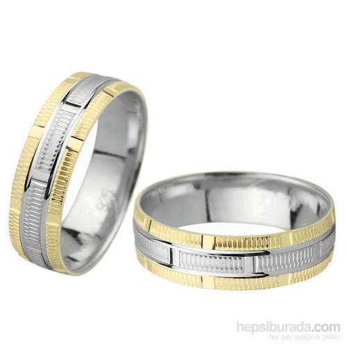 Ejoya Gümüş Çift Alyans C1060