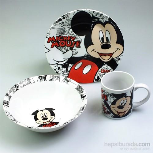 Disney Mickey 3'Lü Beslenme Seti