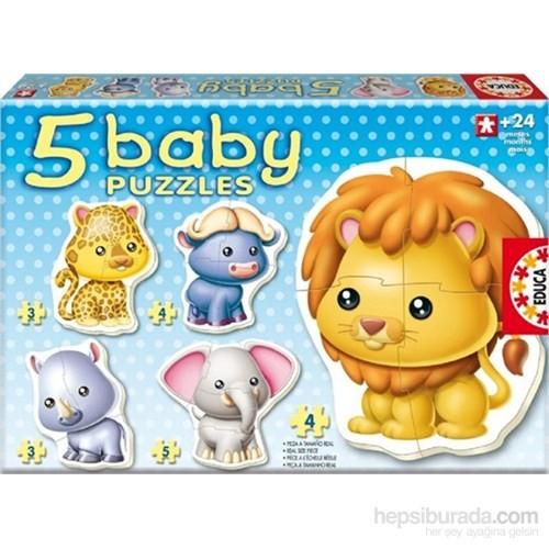 Baby Puzzles Vahşi Hayvanlar - Educa