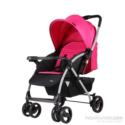 Crystal Baby 295 Solara Bebek Arabası - Pembe