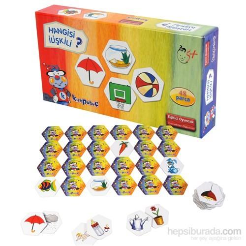 Kırkpabuc İlişkiler (Hafıza Oyunu Karton Puzzle)