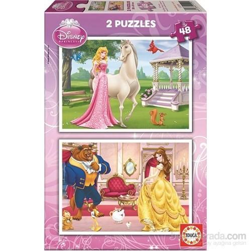 Educa Aurora Beauty - 2X48 Parça Puzzle