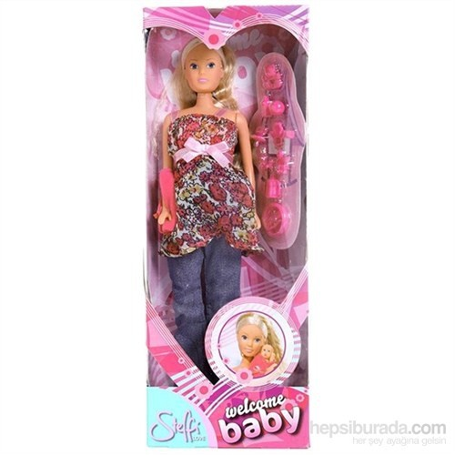 Steffi Love Welcome Baby Oyuncak Bebek