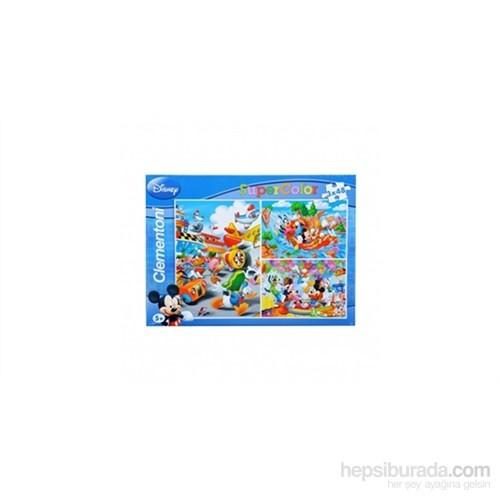Clementoni Mickey Mouse - 3X48 Parça Puzzle