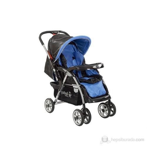 Crystal Baby CB-223 Anemon Bebek Arabası / Mavi