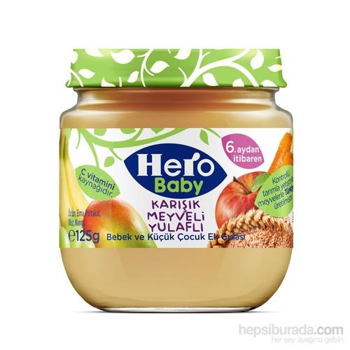 Hero Baby Karışık Meyveli Yulaflı Kavanoz Maması 125 gr