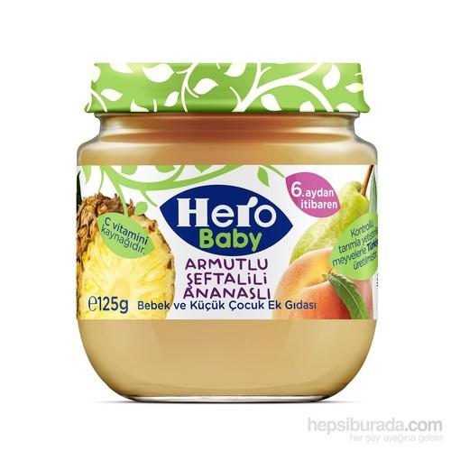 Hero Baby Armutlu Şeftalili Ananaslı Kavanoz Maması 125 gr