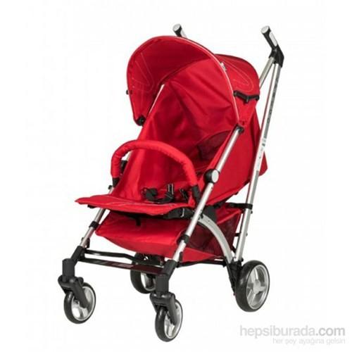 Prego 2090 Rivera Baston Bebek Arabası Kırmızı