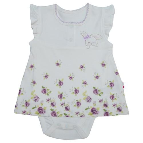 Baby Center Kız Bebek Cam Güzeli Jile Body Yarım Kol