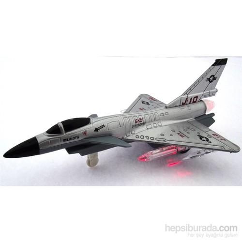 Metal Sesli Savaş Uçaği Sky Defender