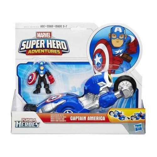 Playskool Süper Araç Ve Figür Captan America
