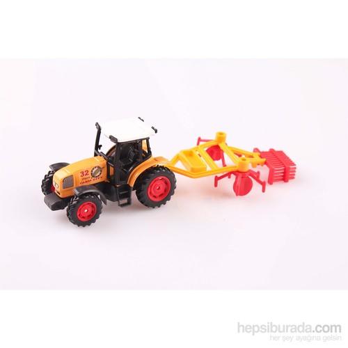 Nani Toys Çiftlik Aracı Diecast Traktör Seti