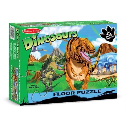 Melissa & Doug Dev Yer Yapbozu Dinozor Dünyası (48 Parça)