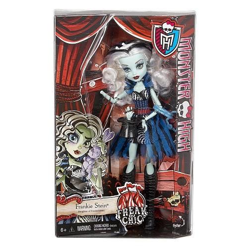 Monster High Korku Sirki Acayip Arkadaşlar Frenkie Stein