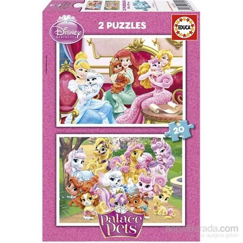 Educa Palace Pets -2X20 Parça Puzzle