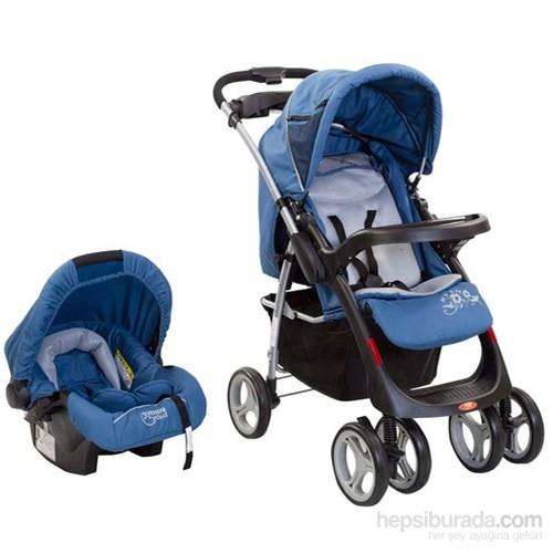 Sunny Baby Sb 750 Royal Travel Sistem Bebek Arabası Mavi