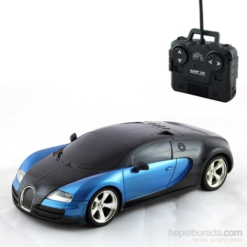 Furkan 1.18 U/K Model Car Bugga Full Fonksiyon Led Işıklı / Mavi