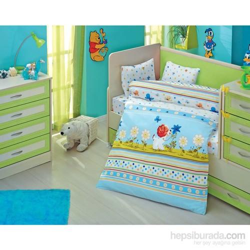 Altınbaşak Bebek Uyku Seti Gülücük Mavi