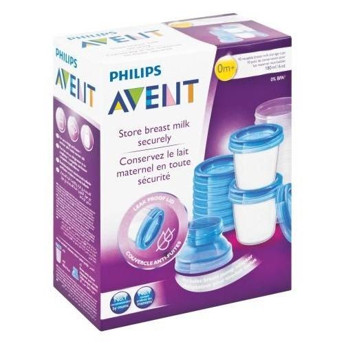 Philips Avent Scf618/10 Via Süt Saklama Kapları 180 Ml