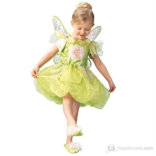 Tinker Bell Platinium Çocuk Kostüm Small 3-4 Yaş