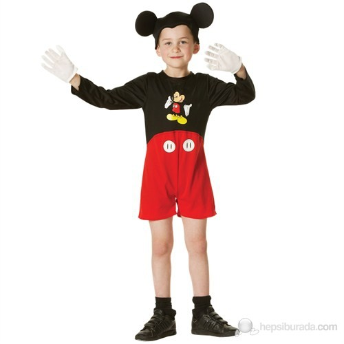 Mickey Klasik Çocuk Kostüm 2-3 Yaş