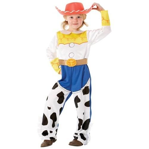 Toy Story Jessie Lüks Çocuk Kostüm 7-8 Yaş