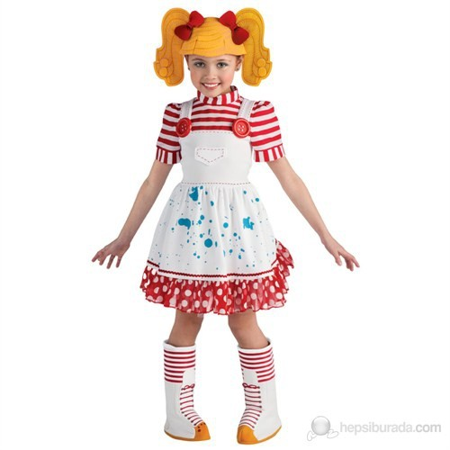 Lalaloopsy M.F.S. Lüks Çocuk Kostüm 3-4 Yaş