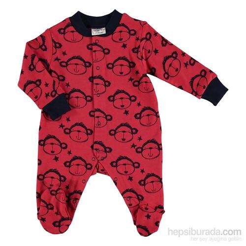 Mother Love Kırmızı Maymun Emp.Tulum İnt - Kırmızı