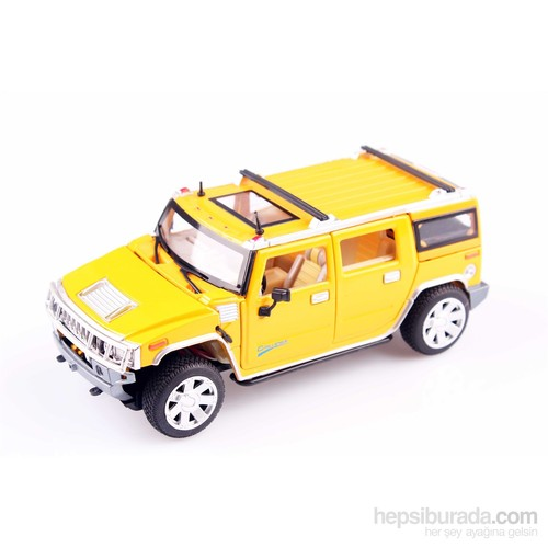 Nani Toys Işıklı ve Sesli Diecast 1/24 Hummer Jeep