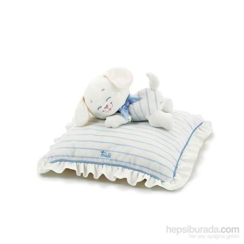 Trudi Melodılı Yastık Puppy 28*28 Cm