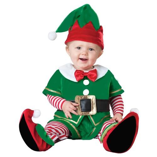 Bebek Elf Lüks Kostüm 12-18 Ay