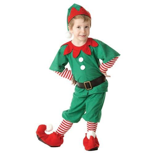 Çocuk Elf Lüks Kostüm 2-3 Yaş