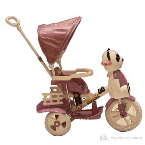 Panda Ebeveyn Kontrollü Tenteli Çocuk Bisikleti