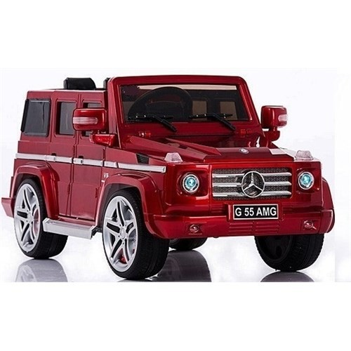 Baby2go G55 Jeep Amg 12V U.Kumandalı Lisanslı Akülü Araba Kırmızı