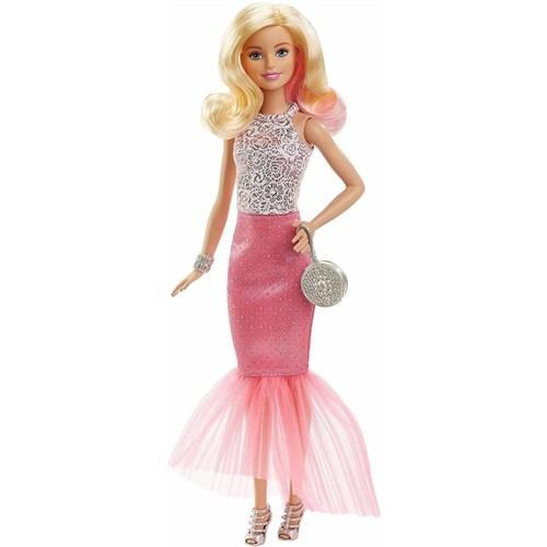 Barbie Büyüleyici Pembe Elbisesi Dgy70