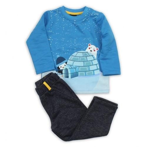 Modakids Wonder Kids Erkek Bebek 2'Li Takım 010-4464-015