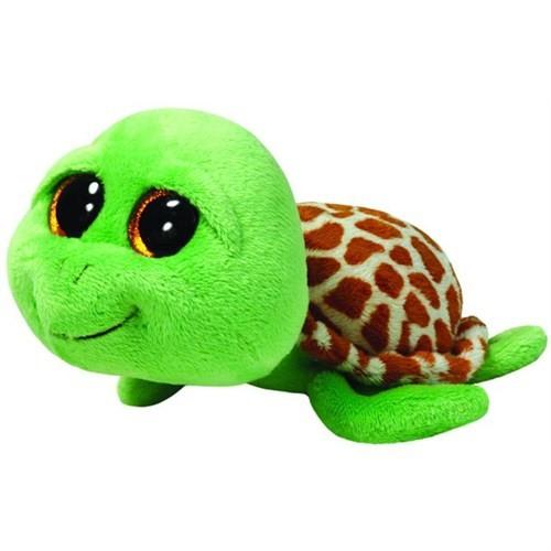 Ty Peluş Oyuncak Zippy - Green Turtle 15 Cm