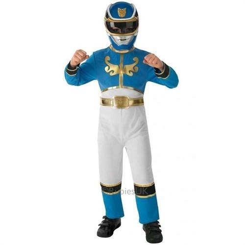 Power Rangers Mavi Çocuk Kostümü 7-8 Yaş