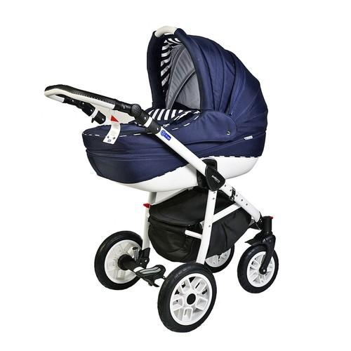 Pajero Alu Bebek Arabası Portbebe Lacivert Zebra 01P