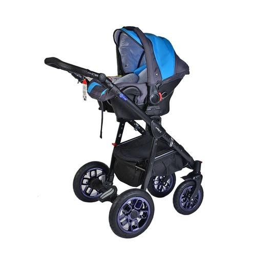 Pajero Alu Bebek Arabası Oto Koltugˆu Mavi 10M