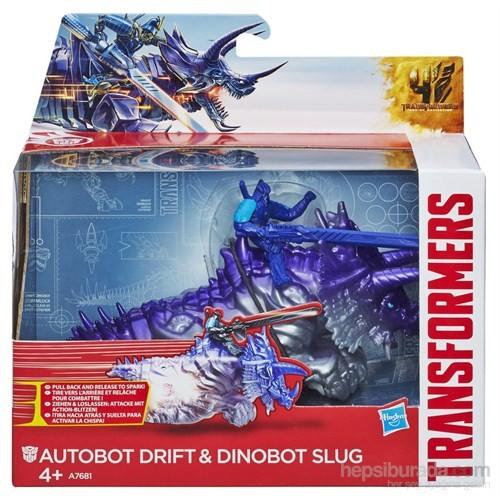 Transformers 4 Dinobot / Autobot Drift ve Dinobot Slug