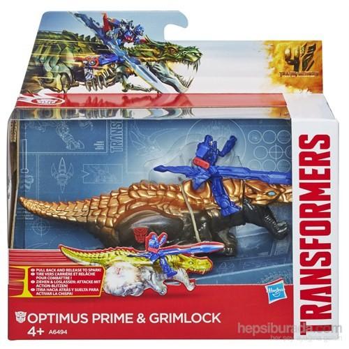 Transformers 4 Dinobot / Optimus Prime ve Grimlock