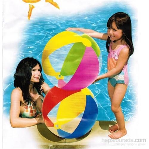 İntex Renkli Deniz Topu 61 Cm