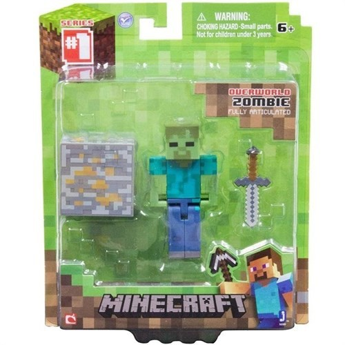 Minecraft Figur Paketi Zombie