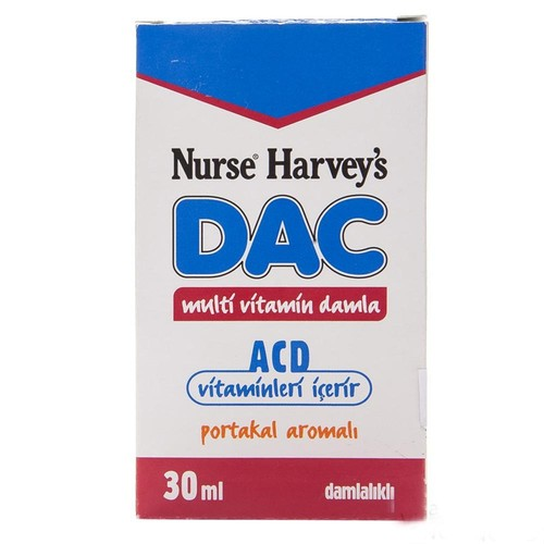 Nurse Harveys Multi Vitamin Damla 30 Ml