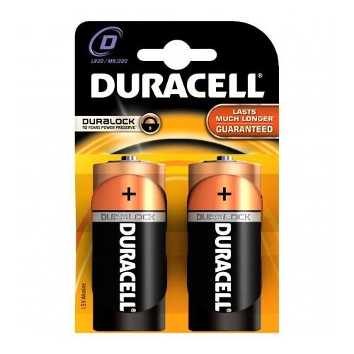 Duracell Alkalin Büyük Pil D 2'Li
