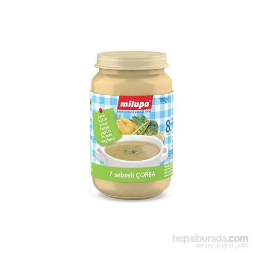 Milupa 7 Sebzeli Çorba 190 gr - 2'li