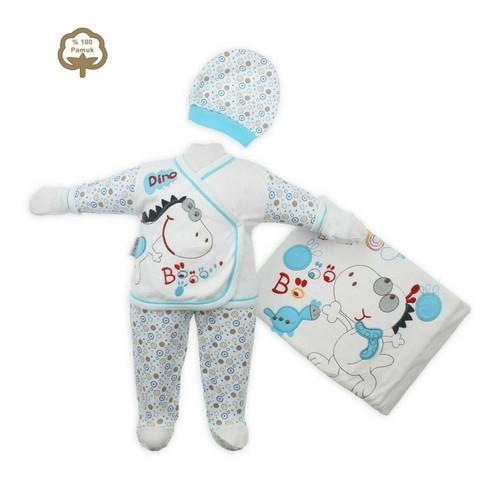 Modakids Bebellove Erkek Bebek 10'Lu Hastane Çıkışı 019-1010-037