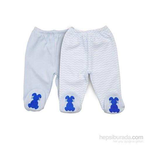Baby Corner 2'Li Patikli Alt /Tavşan / Mavi