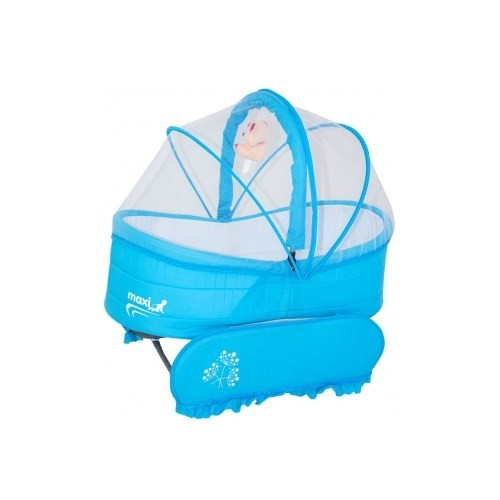 Maxi Baby Bez Sepet Beşik Mavi